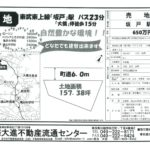【物件NO.11】鳩山町大字須江(土地)