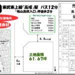【物件NO.7】鳩山ニュータウン 松ヶ丘2丁目(土地)